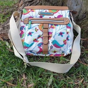 Lily bloom eco friendly recycled pouch handbag